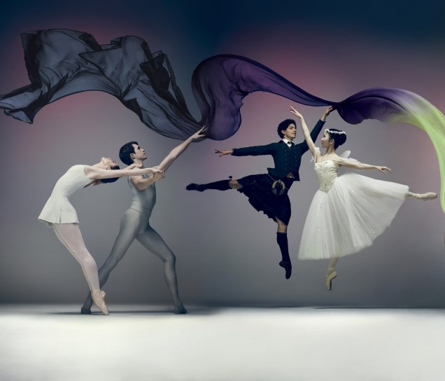 English National Ballet: Song of the Earth/ La Sylphide © Jason Bell