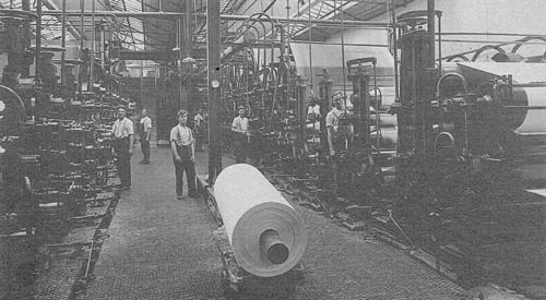 Visit to St. Cuthberts Paper Mill