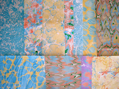 Ebru Marbling Workshop (10-1pm)