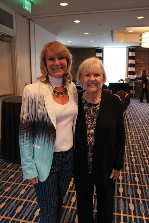 2015---ASGT-Volunteer-Director-Melody-Volkman,-and-ASGT-President-Carolyn-Kirby---Courtesy-Photo