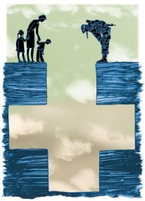 SWC_illustration_editorial_Wall_Street_Journal_Healthcare_for_Veterans