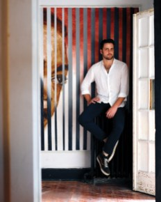 Producer/Host Conor Todd at Haymaker Offices on West Street. Photo by Tony J Photography.