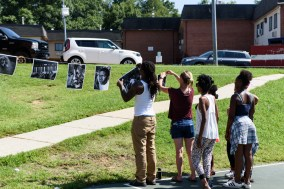 Vision Workshops photo camp for teens at Newtowne 20 in Annapolis Maryland in August 2017.