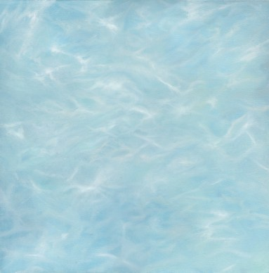 """Submerge"" - 25""x25"" oil on canvas"