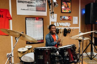 Rowan is the drummer and sometimes sings for DRH.