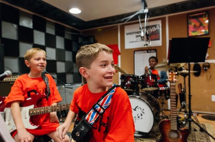 Charlie and James are the two main guitar players for DRH.