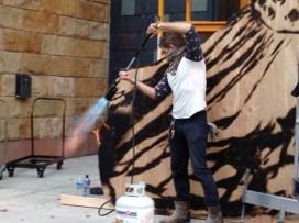 Flame-throwing _Barefoot Princess_ (2013) Harrisburg, PA_08