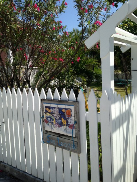Marcia's cottage, SeaLeggs, in Hope Town, Abaco, Bahamas Photo courtesy of Marcia Talley