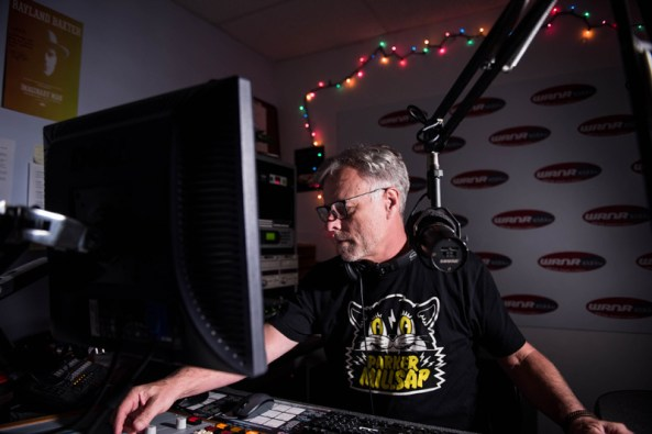 Bob Waugh of WRNR radio station. Photos by Alison Harbaugh
