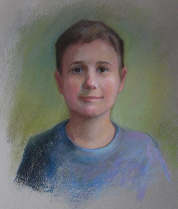 Nancy McCarra - Cole, pastel, 24x18