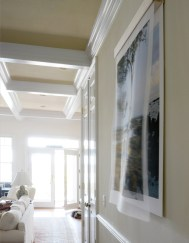 Views From Kho Jum (Thailand), side view - archival inkjet prints on silk organza and cotton rag paper Image courtesy of Celia Pearson