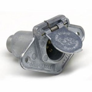 Cole Hersee  1232  4Pole Socket with protective housing