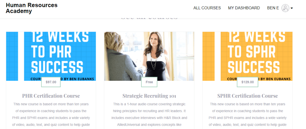 Announcement New Hr Certification Materials Are Live