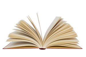 background image of an open book