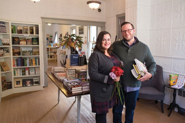 Jesse Post and Maggie Paquet: Bookseller, Publishing Consultant & Florist