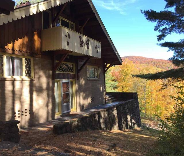 Get Ready To Time Travel When You See The Interior Of This S Chalet In Big Indian Ulster County Situated Just North Of Slide Mountain The Catskills