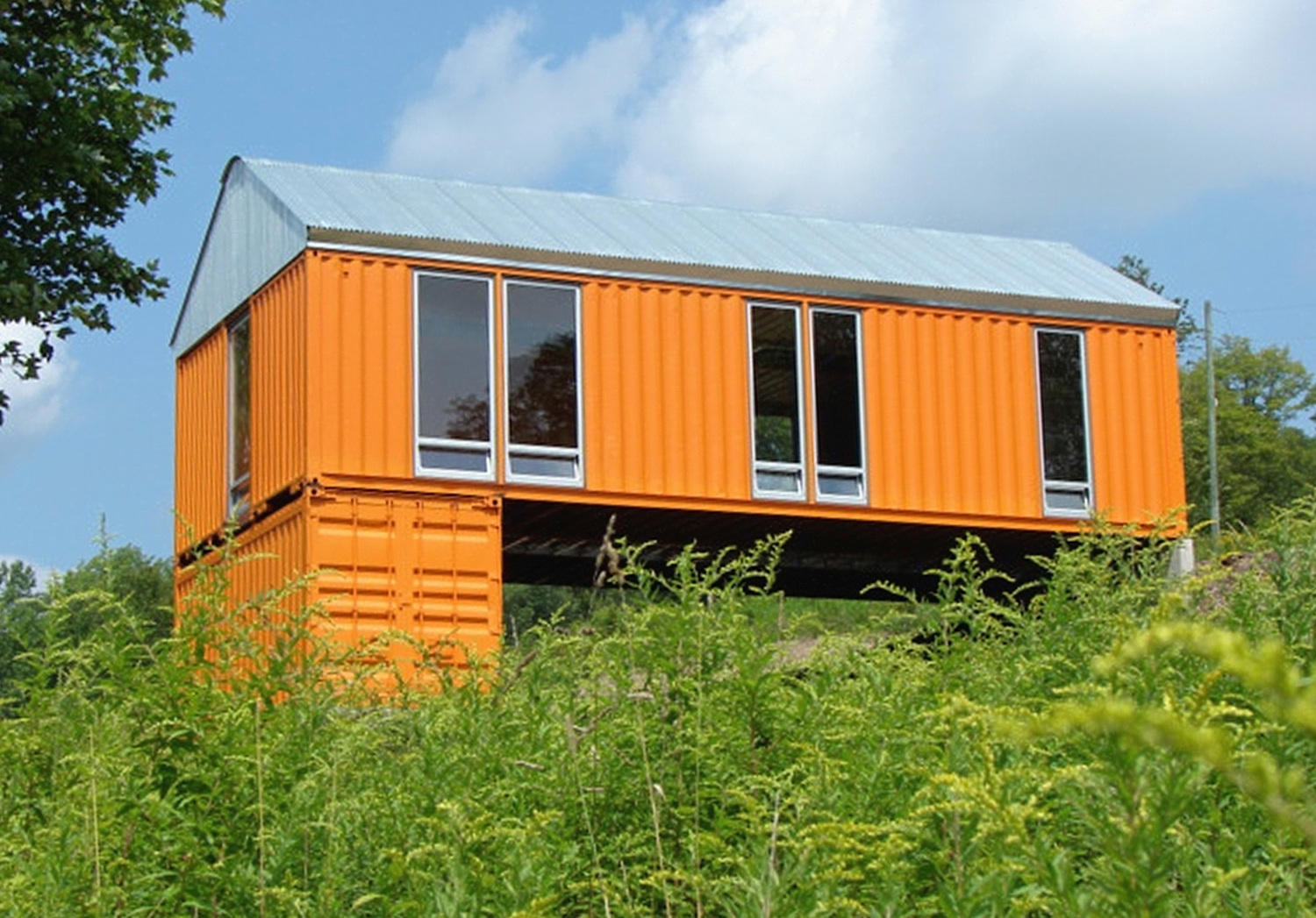 Best Kitchen Gallery: Catskills Shipping Container Homes Time Steele New York Times of Cottage Style Container Homes on rachelxblog.com