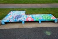 Jones Center Art Feeds Storm Drain Mural