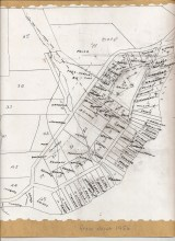 Map of Six Mile Area-about 1956-Mary Carne files