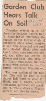 Duhamel Recreation Commission article Nelson Daily News Mar 14 1968 -P. Ormond files