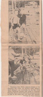 Duhamel Recreation Commission article Nelson Daily News Aug 6, 1968 -P. Ormond files