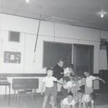 Duhamel Recreation Commission Gymnastics  St Andrews Church Hall, 1966, Pat Deakin instructor -P.Ormond files