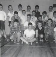 Duhamel Recreation Commission Gymnastics  St Andrews Church Hall, 1960's -P. Ormond files