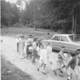 Duhamel Family Fun Days Parade  A.I. Collinson school grounds 1967 -Patsy Ormond files