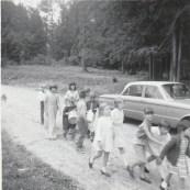 Duhamel Family Fun Days Parade  A.I. Collinson school grounds 1967 -Patsy Ormond files