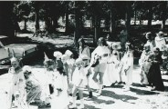 Duhamel Family Fun Days Parade  A.I. Collinson school grounds 1960's -Patsy Ormond files