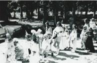 Duhamel Family Fun Days Parade  A.I. Collinson school grounds 1960's -Patsy Ormond files