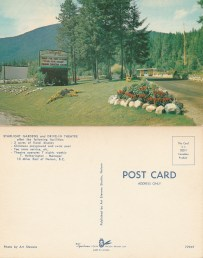 Starlite Drive In postcard -P.O. files