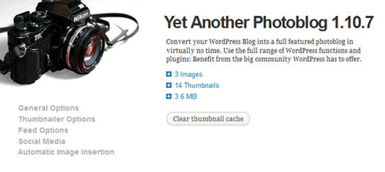 yet another photoblog plugin header image