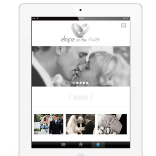 1 Page Website & Logo Design for Elopement Venue
