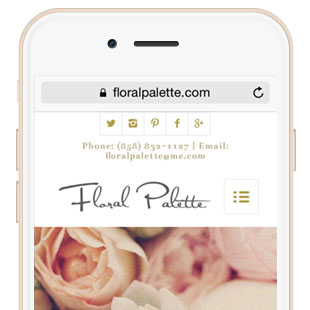 Elegant Responsive Florist Website