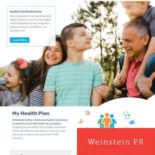 Responsive Community Health Website & Directory