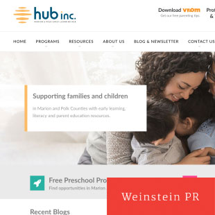 Early Learning and Parenting Hub Website