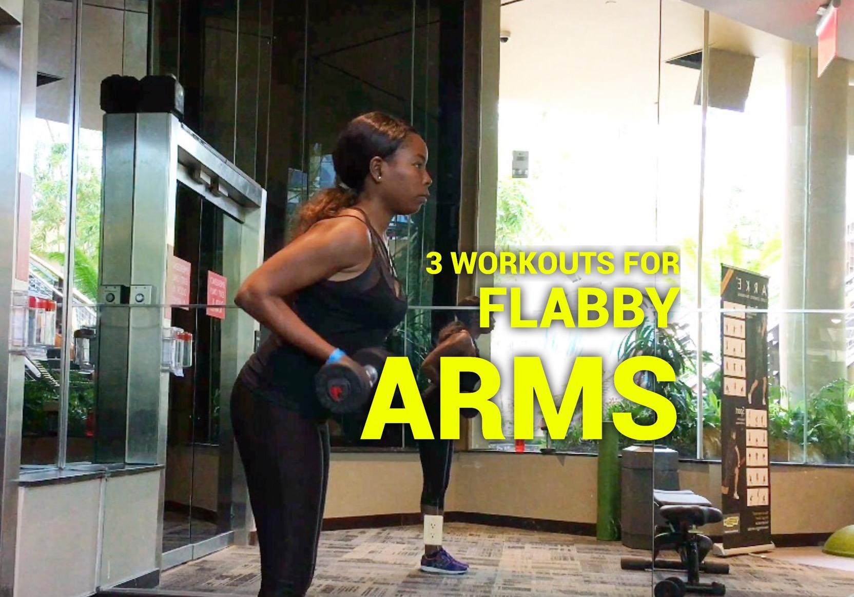 3 ejercicios para los tríceps (flacidez en los brazos)