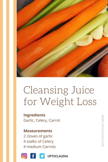 Cleansing juice for Weight Loss