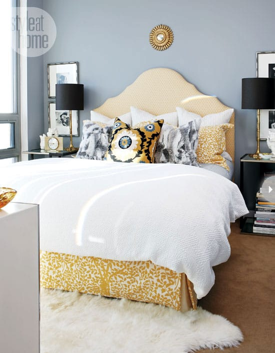 beautiful ideas for how to style a bed