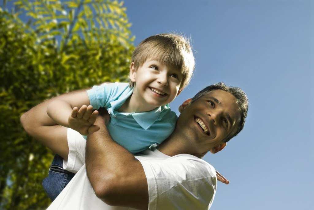 Dar tempo aos filhos é investir no futuro