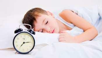 Cuidado com as crianças que se deitam tarde