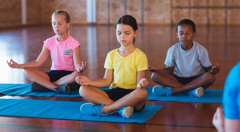 meditação na escola