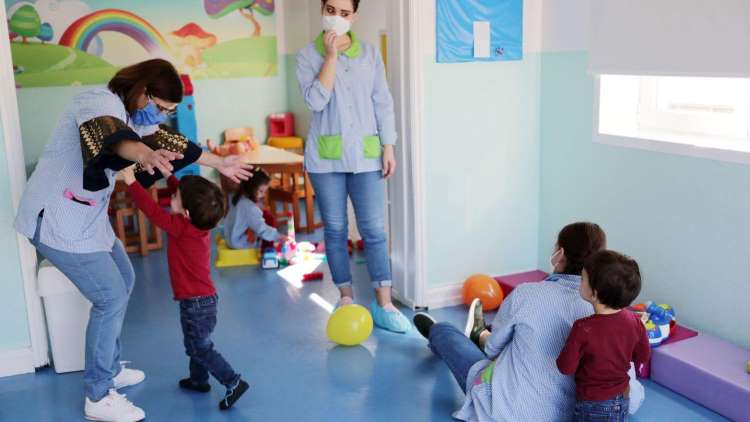 O coração de uma mãe na adaptação à creche em plena pandemia