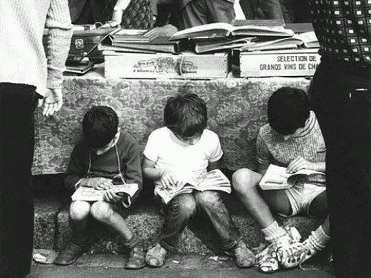 Aqui em casa os livros têm e sempre tiveram um lugar de destaque