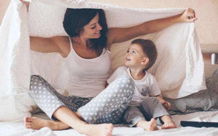 Os filhos não querem mães perfeitas, querem mães felizes