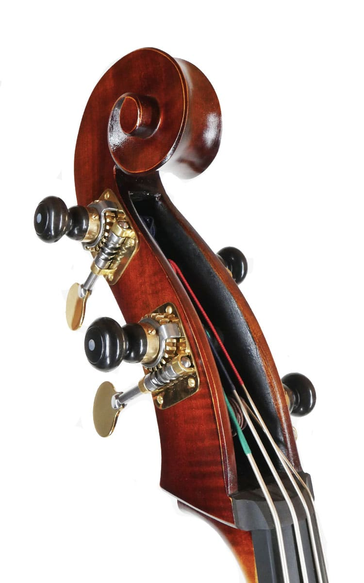 Camp Brescian Double Bass Scroll Angle
