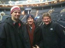 Brad and Mark at Bulls game
