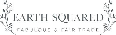 Earth Squared, fabulous and fair trade logo