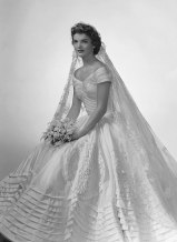 Jackie Kennedy In Ann Lowe Designed Wedding Dress